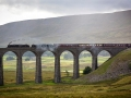 Crossing Ribblehead Viaduct