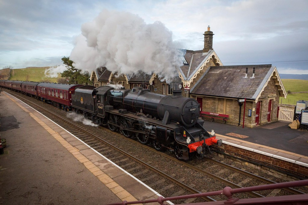 Winter Cumbrian Mountain Express at Kirkby Stephen