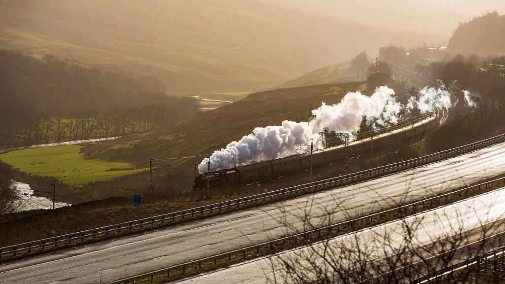 inter Cumbrian Mountain Express at Tebay